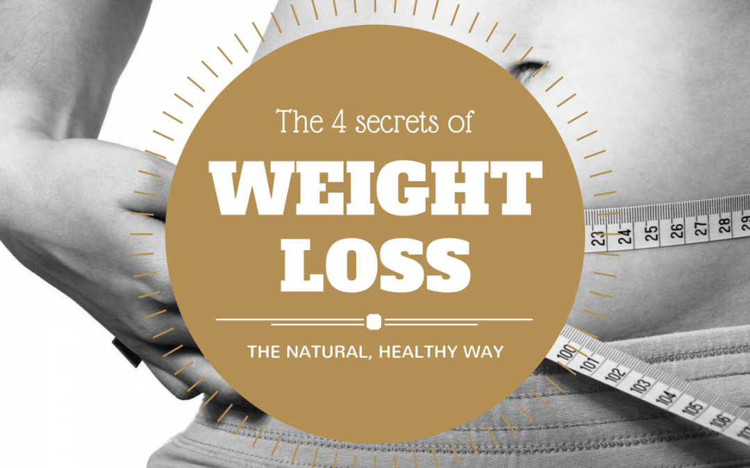 4 Secrets to Sustainable, Healthy Weight Loss